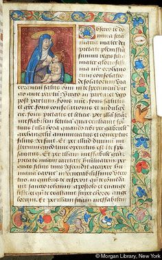Book of Hours, MS M.1114 fol. 72r - Images from Medieval and Renaissance Manuscripts - The Morgan Library & Museum