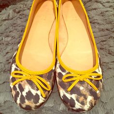 Animal print flats Fun and comfortable flats, made in Brazil. Schultz Shoes Flats & Loafers