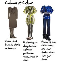 Column of Colour by imogenl on Polyvore