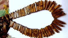 Tiger Eye Pencil Beads