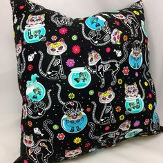 • FILLED AND READY TO USE Our Premium Designer #pillows are already filled for your convenience. Makes a great gift! MACHINE WASHABLE All our pillows are machine washable an... #etsy #handmade #dogs #mothersday #fathersday #gifts #doglovers #noveltypillows #mancave #square #bedding #kittens #cats