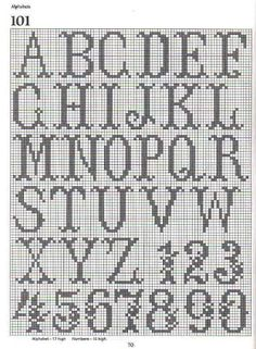 Alphabet chart for tapestry crochet crochet stitch patterns free crochet write your name by crochetpetersonwoodwardneed pattern for both names thecheapjerseys Choice Image