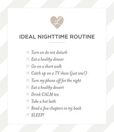 See my ideal night routine - perfect for . - # for - self care - Health Night Time Routine, Evening Routine, Yoga Routine, Self Care Routine, Yoga Am Morgen, Motivacional Quotes, Good Habits, Healthy Habits, Healthy Lifestyle Tips