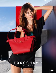 Alexa Chung by Max Vaduku for LONGCHAMP Spring/Summer 2015 | via www.orientsystem.com