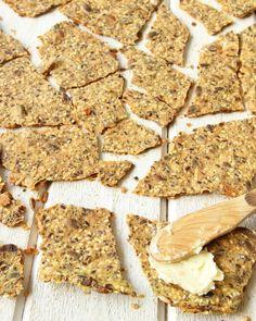 nyttigtfröknäcke2 Gluten Free Recipes, Bread Recipes, Baking Recipes, Vegan Recipes, Swedish Recipes, Biscuit Cookies, Freshly Baked, Bread Baking, Lchf
