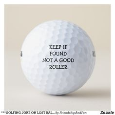 Your next golf game will be a great experience with Motivational golf balls from Zazzle. Choose from a huge selection of golf ball designs! Humour Golf, Golf Ball Crafts, Perfect Golf, Putt Putt, Golf Quotes, Golf Sayings, Golf Gifts, Dad Gifts, Father's Day