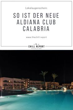 Lokalaugenschein Aldiana Club Calabria - The Chill Report Pool Bar, All Inclusive Urlaub, Strand, Italy, Family Activity Holidays