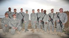 Members of the 5-113th FA deployed to Sinai, Egypt, are visited by General Frank Grass and Chief Master Sergeant Denise Jelinski-Hall. (Photo by U.S. Army Staff Sergeant Elliot Westbrook)