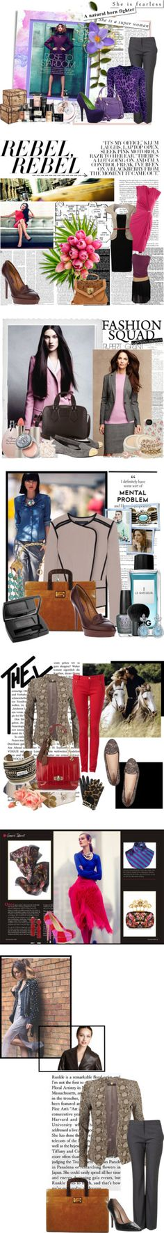 """""""Job Interview"""" by athina-g ❤ liked on Polyvore"""