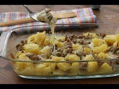Il Pasticcio di patate e salciccia è un'ottimo piatto unico semplice e facile da fare!! La foto ricetta qui:http://blog.giallozafferano.it/cucinadichicca/pas...