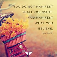 What did you manifest to your life today?  :)