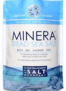 Naturally cure seborrhic dermatitis - Minera dead sea salt