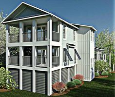 Coastal Home Plans - Pawley's Place I