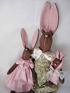 Mother hare and child/Tilda bunny/ Bunny/Rabbit family/Rabbit/ Nursery doll/Easter bunny/Gift/OOAK Bunny/Easter decor