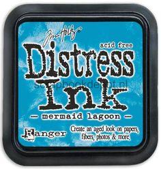 Tim Holtz Distress Ink Pad March - Mermaid Lagoon