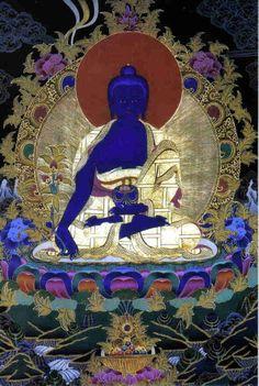 Medicine Buddha, Tibet-style