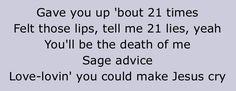 Make me cry Noah Cyrus Lyrics