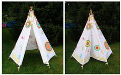 diy tipi campamento indio tienda de campaña de tela decoración habitación juegos niños - tepee indian camp fabric tent kid children playroom decoration miraquechulo