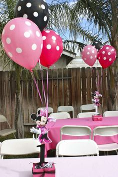 Minnie Mouse Party Birthday Party Ideas | Photo 7 of 17 | Catch My Party