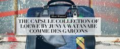 AMDMODE - AMDmode's favorite collaboration this season is Loewe with Junya Watanabe and Comme des Garcons!  Check out the must have accessory from the Capsule Collection!  #AMDmode #UAE #Dubai
