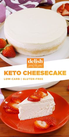 Trying Out The Keto Diet? You Need To Try This Cheesecake!Delish