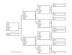 Ancestry Paper XOur Family Tree Chart  Per Pack  Karen