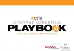 Content Marketing Playbook 2011 - 42 Ways to Connect with Customers [free eBook] Marketing Topics, Content Marketing Strategy, Inbound Marketing, Pr Newswire, Customer Relationship Management, Customer Experience, Free Ebooks, Case Study, Connection