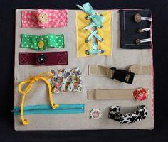 schätzli vintage: blog: montessori learning: DIY busy-board