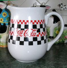 Coca-Cola Large Pitcher - 1996