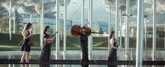 Chamber Music Festival 'Music in the Giant' at Swarovski Kristallwelten in Wattens, Tirol.