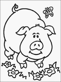 Toddler Printable Coloring Pages Sheets