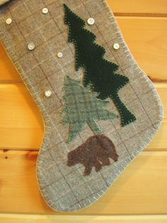 """Fabrics and animals would be perfect for our """"challenged woodsy"""" tree"""