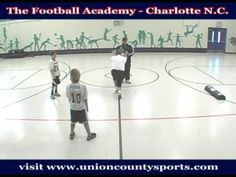 Coaching Youth Football - Running Drive Block - Football Academy - Charl...