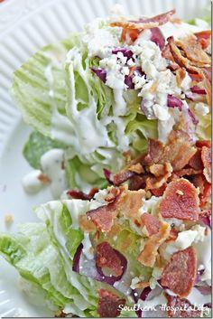 Easy Wedge Salad
