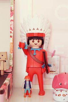 Giant indian Playmobil