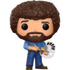 Happy little trees. The soft-spoken creator and host of The Joy of Painting, is now receiving the Pop! Get to painting and add this Bob Ross Pop! From the Joy of Painting, Bob Ross, as a stylized pop vinyl from Funko! Bobs For Round Faces, Newbury Comics, Happy Little Trees, Chin Length Bob, Shaggy Bob, The Joy Of Painting, Choppy Bob Hairstyles, Soft Spoken, Pop Vinyl Figures