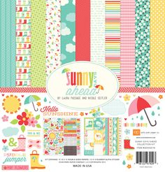 Echo Park: Sunny Days Ahead SDA82016_Sunny_Days_Collection_Kit_F