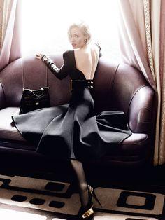 Sienna Miller by Mario Testino for Vogue UK.