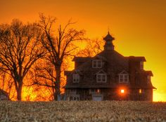 Abandoned, not necessarily haunted but beautiful!  sunlight through the old farmhouse