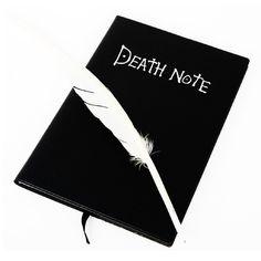 Cuaderno Death Note #deathnote #shinigami #L