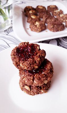 Sugar Free Snacks, Healthy Cookies, Chocolate, Baking, Ethnic Recipes, Desserts, Food, Tailgate Desserts, Deserts