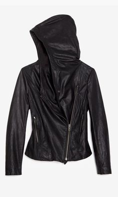 Moto jacket. this is perfect! why do I find it only after I don't need it anymore..