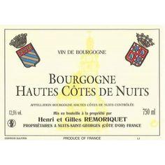 Hautes-Côtes de Nuits Gilles Remoriquet 2013 - Lot de 1 Bouteille