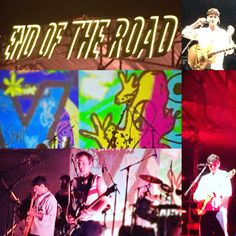 Vampire Weekend at End Of The Road Festival 2018 photomontage by Lizzie Reakes Vampire Weekend, Photomontage, Love You, Baseball Cards, Live, Te Amo, Je T'aime, I Love You