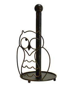 Owl Paper Towel Holder