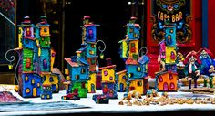 Little houses by Vero Attala