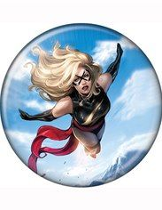 Ms. Marvel Soaring Button