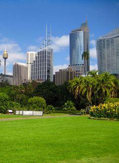 The Royal Botanic Gardens, Sydney Australia