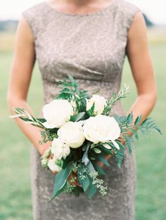 Beautiful neutral palette: http://www.stylemepretty.com/2015/02/10/neutral-colored-texas-hill-country-wedding/ | Photography: Loft - http://loftphotographie.com/