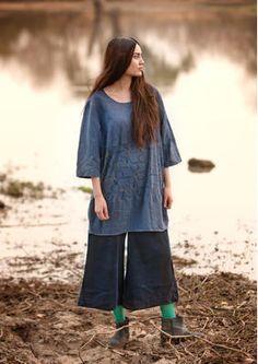 "Tunika ""Elefant"" aus Baumwolle/Modal"